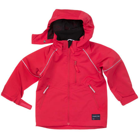 Kids Shell Jacket Red