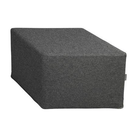 Hexagonal Footstool Grey