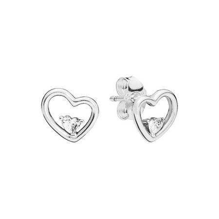 Hearts of Love Stud Earrings