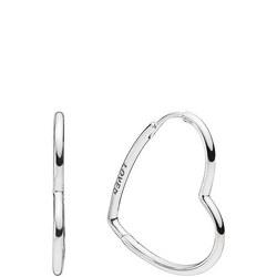 Hearts of Love Hoop Earrings