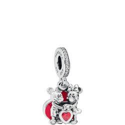 Disney, Mickey & Minnie with Love Charm