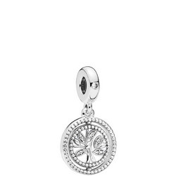 Spinning Tree of Life Charm