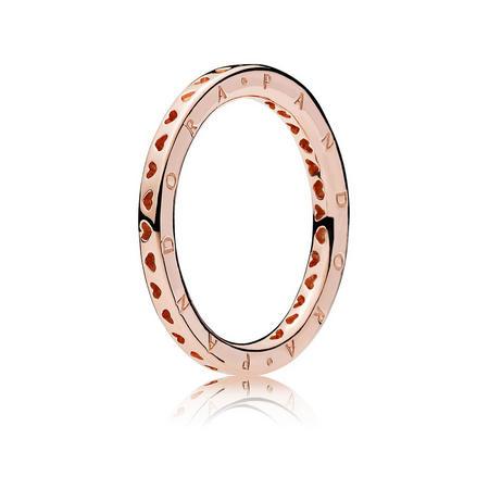 Signature Hearts Of Pandora Ring Gold