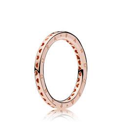 Signature Hearts Of Pandora Ring Rose