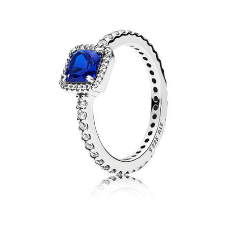 Blue Timeless Elegance Ring Blue
