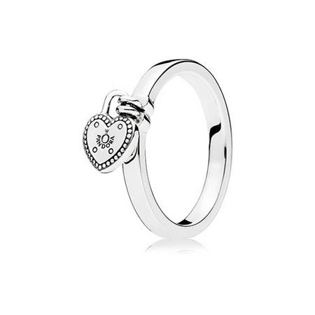 Love Lock Ring Silver
