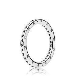 Signature Hearts Of Pandora Ring Silver