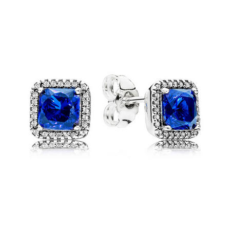Timeless Elegance Earrings Blue