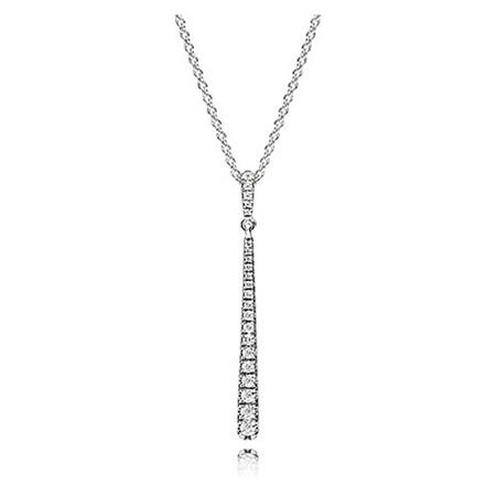 Shooting Star Necklace Clear