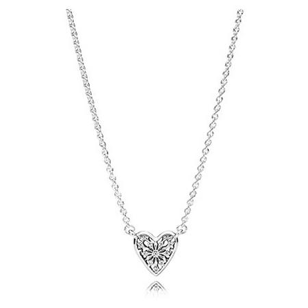 Heart Of Winter Collier Necklace Clear
