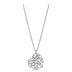 Tree of Love Necklace Necklace Multicolour