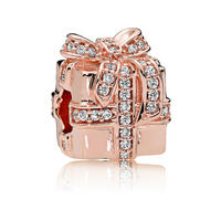 Sparkling Surprise Charm Rose Gold