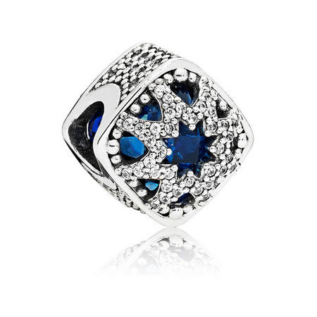 Glacial Beauty Charm Blue