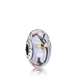 Enchanted Garden Glass Charm Multicolour