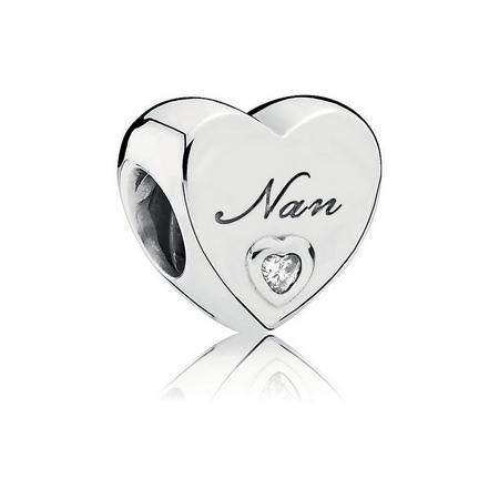 Nan'S Love Charm Silver