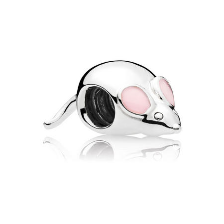 Cute Mouse Charm Pink