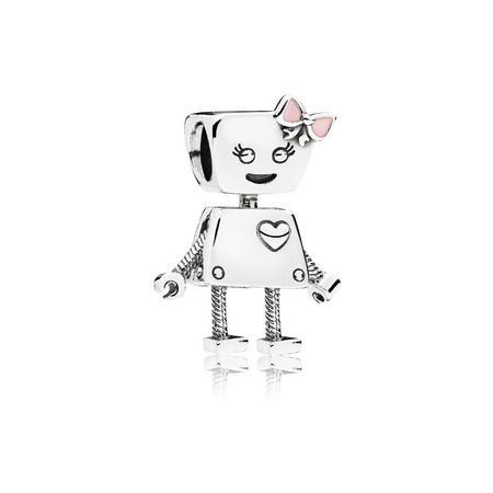 Bella Bot Charm Pink