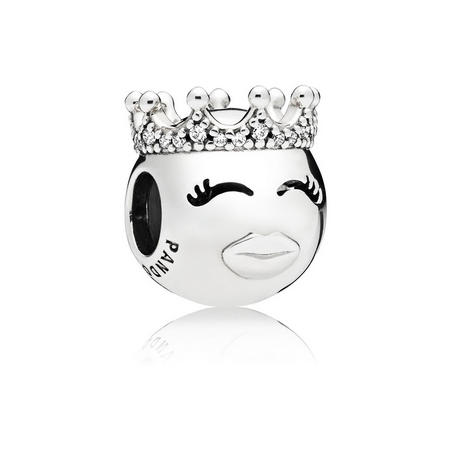 Princess Charm Silver