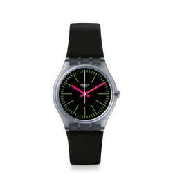 FLUO LOOPY Watch Black
