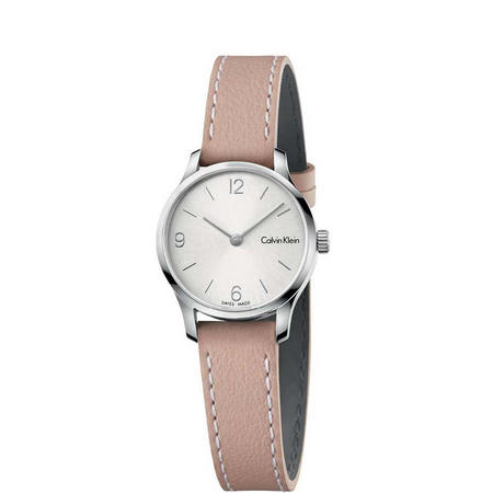 Endless Silver Dial Watch Silver-Tone