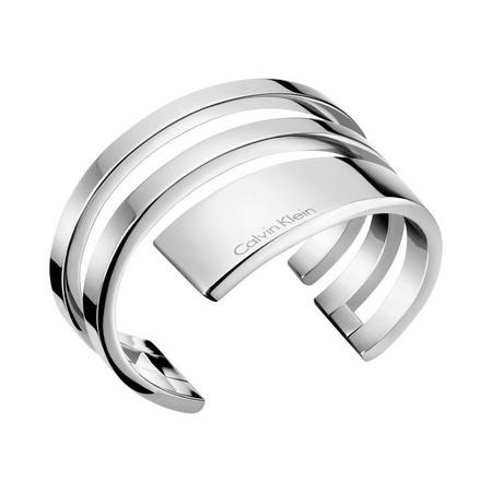 Open Beyond Bangle Silver-Tone