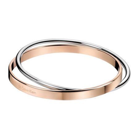 Closed Coil Bangle Rose-Tone