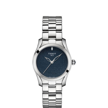 Blue Dial T-Wave Stainless Steel
