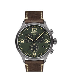 Green Dial Chrono XL Brown
