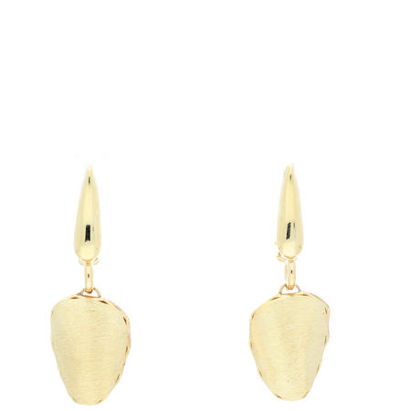14ct Two-Tone Gold Reversible Earrings