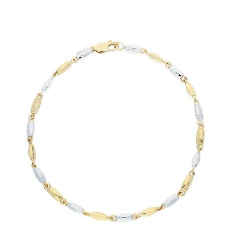 9ct Two-Tone Gold Bracelet