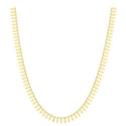 9ct Gold Cleopatra Style Fringe Neckchain Gold
