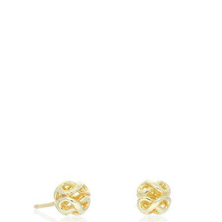 9ct Gold Ball Earrings Gold