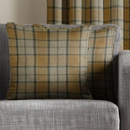 Brae Cushion Cover Mustard