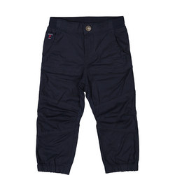 Baby Cotton Trousers Blue
