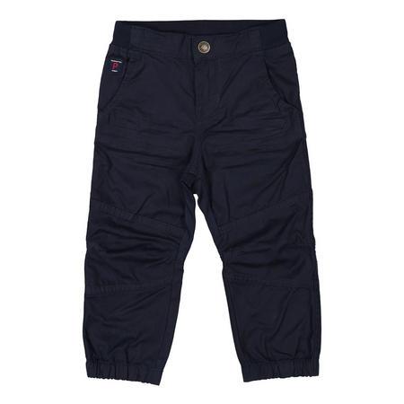 Boys Cargo Cotton Trousers Blue