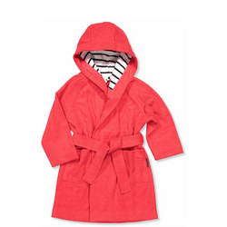 Cosy Terry Robe Red