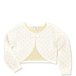 Girls Cardigan Cream