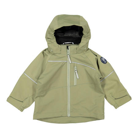 Kids Waterproof Shell Jacket Green