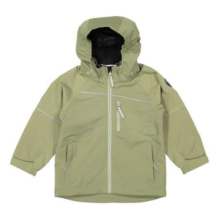 Kids Waterproof Shell Jacket Green