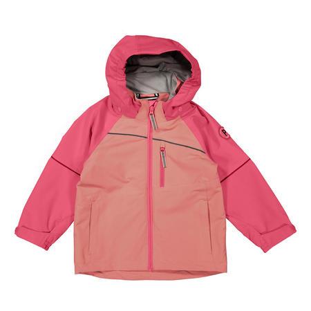 Kids Waterproof Shell Jacket Pink