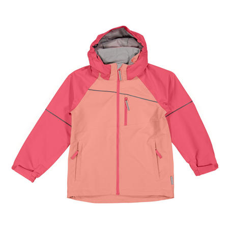Kids Waterproof Shell Jacket Pink