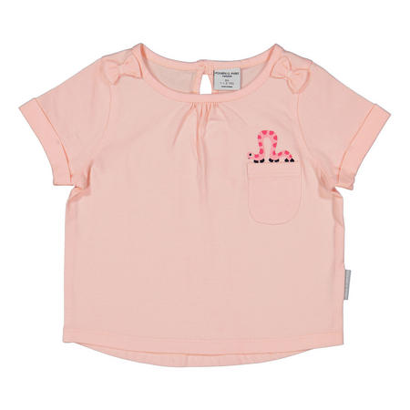 Baby Girls Bow Top Pink