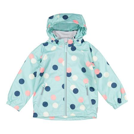 Kids Waterproof Shell Jacket Blue