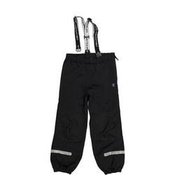 Kids Waterproof Shell Trousers Black