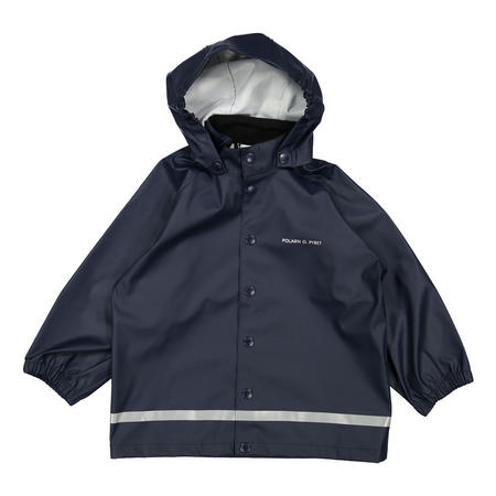 Kids Navy Rain Coat Blue