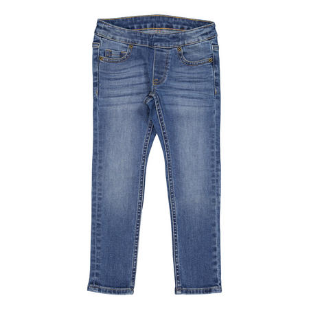 Kids Super Slim Fit Jeans Blue