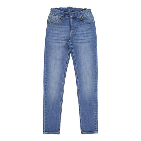 Kids Super Slim Jeans Blue