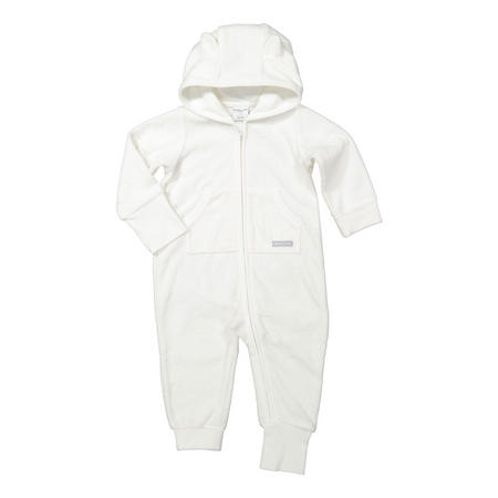 Babies Sun Print All-In-One White