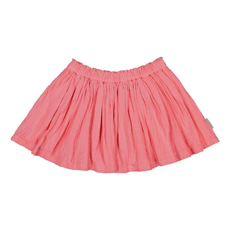 Girls Skirt With Braces Pink