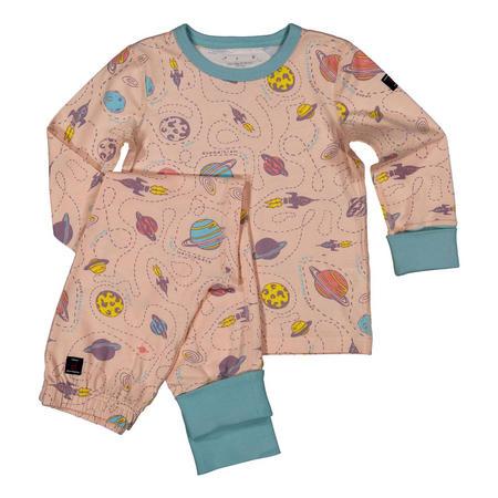 Kids Organic Pyjamas Pink